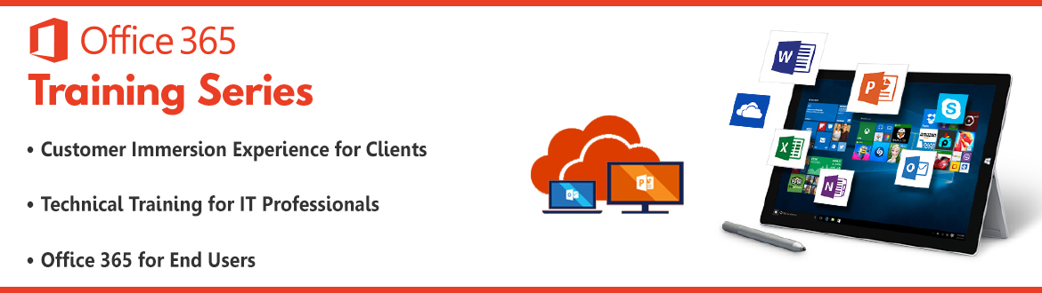 Office 365 For End Users Banner for Smart nation