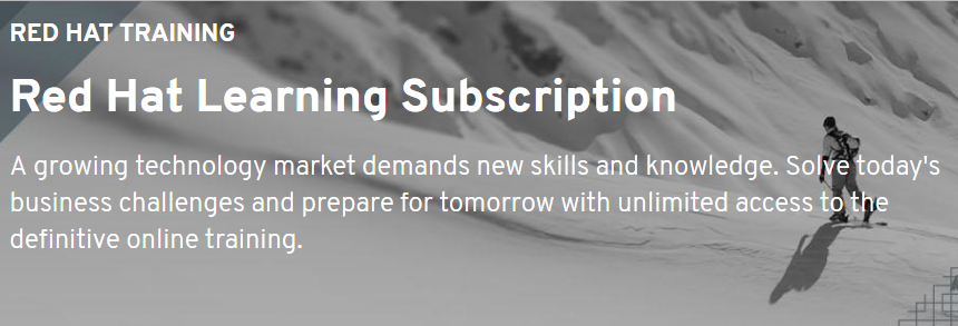 Red Hat Learning Subscription_banner