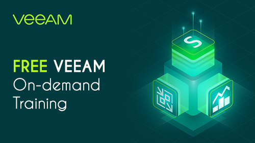 FREE Veeam on-demand training